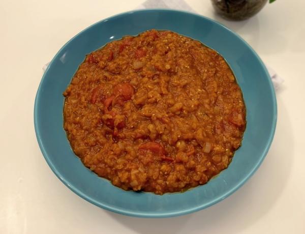 Zupa dahl z czerwonej soczewicy przepis