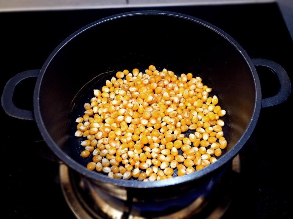 Domowy popcorn przepis