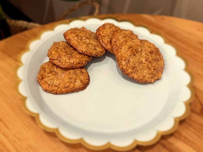 Ciastka orzechowo-cytrynowe przepis