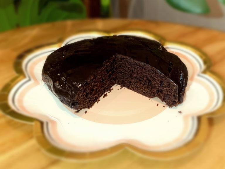 Białkowe ciasto czekoladowe przepis