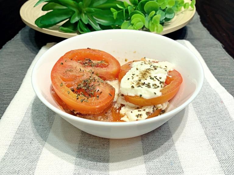 Ser feta z pomidorami z mikrofalówki