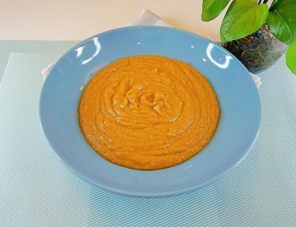 Zupa krem z dyni z nutą imbiru i kokosa przepis