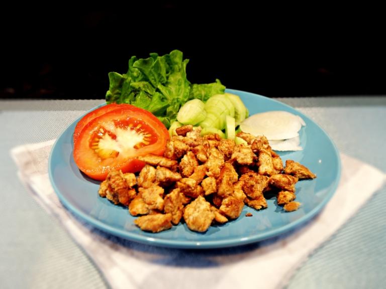 Domowy kebab z kurczakiem przepis