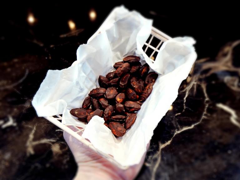 Migdały w czekoladzie przepis