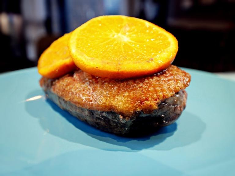 Pierś z kaczki z pomarańczą przepis