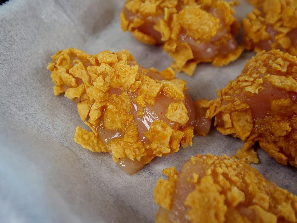 Pieczone nuggetsy z kurczaka przepis