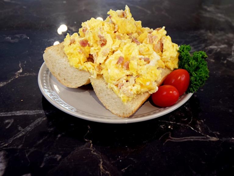 Bagietka śniadaniowa przepis
