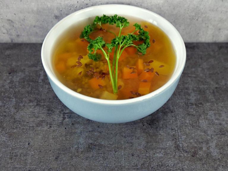 Odżywcza zupa z kaszą jaglaną przepis