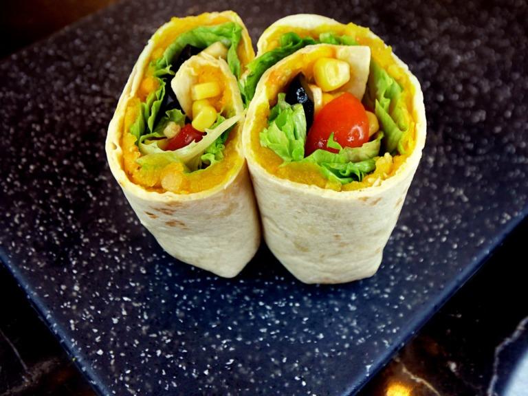 Burrito z dynią i soczewicą przepis