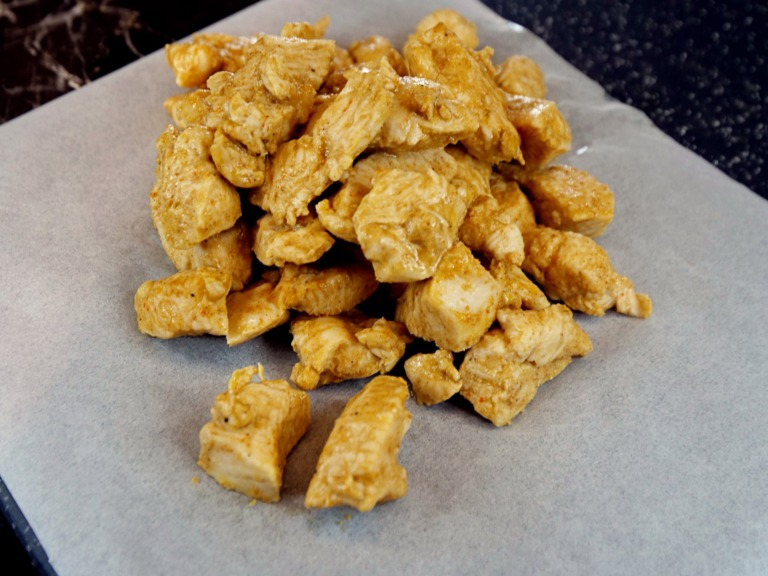 kurczak w marynacie musztardowej z piekarnika